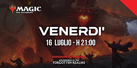 Prerelease - Adventures in the Forgotten Realms - Venerdì h 21:00 biglietti