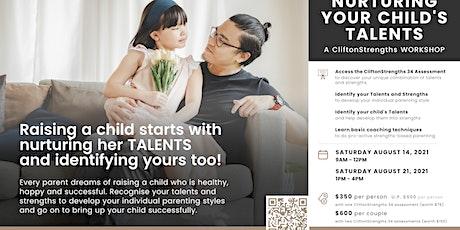 NURTURING YOUR CHILD'S TALENTS tickets