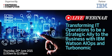 Transforming IT Operations to be a strategic ally to the business with IBM tickets