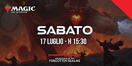 Prerelease - Adventures in the Forgotten Realms - Sabato h 15:30 biglietti