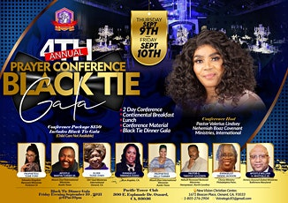Nehemiah 4th Annual Prayer Conference &BlackTie Gala tickets