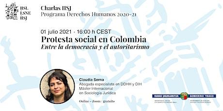Protesta social en Colombia: Entre la democracia y el autoritarismo entradas