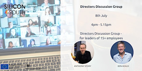 Directors Discussion Group - for leaders with 15+ employees tickets