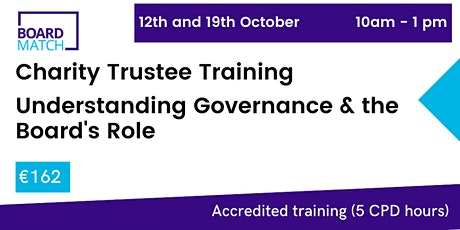Boardmatch: Online Charity Trustee Training (CPD Certified) tickets