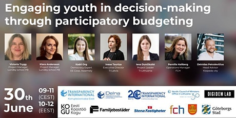 Engaging youth in decision-making through participatory budgeting tickets