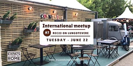 Tuesday International Meetup on lungotevere biglietti