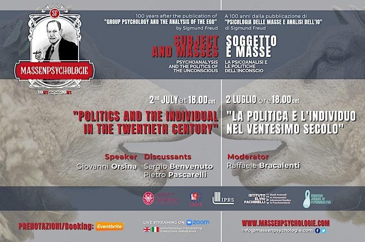 """Immagine """"La politica e l'individuo nel ventesimo secolo"""""""