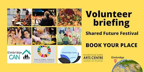 Shared Future - Volunteer event tickets