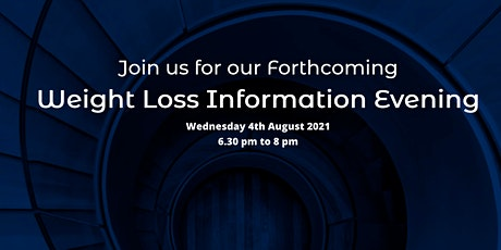 Weight Loss Information Evening tickets