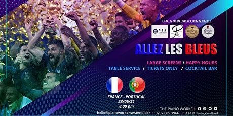 ALLEZ LES BLEUS (Euro 2021) FARRINGDON tickets