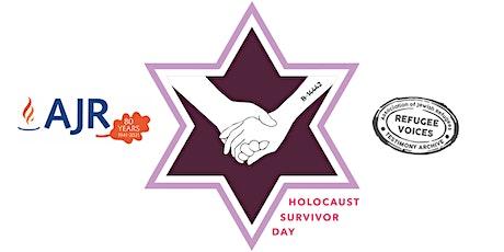 Special Event for HOLOCAUST SURVIVOR DAY, 2021 tickets