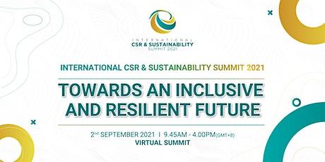 [Virtual] International CSR & Sustainability Summit 2021 tickets