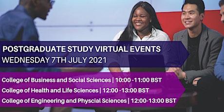Postgraduate Study Virtual Event tickets