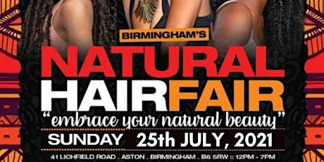 Birmingham's Natural Hair Fair tickets