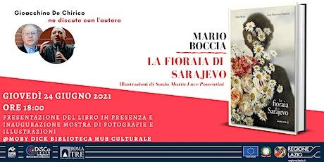 La Fioraia di Sarajevo - Presentazione libro e inaugurazione mostra billets