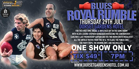 Blues Royal Rumble LIVE at Dorset Gardens Hotel! tickets
