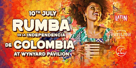 Rumba Oficial Independencia de Colombia | 10 July at Wynyard Pavilion tickets