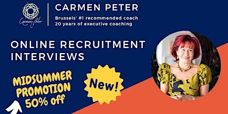 NEW - Online Recruitment Interviews tickets
