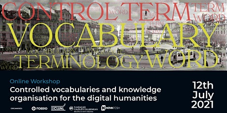Controlled vocabularies and knowledge organisation for Digital Humanities ingressos