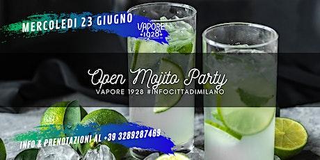 OPEN Mojito Party alla Fabbrica del Vapore biglietti