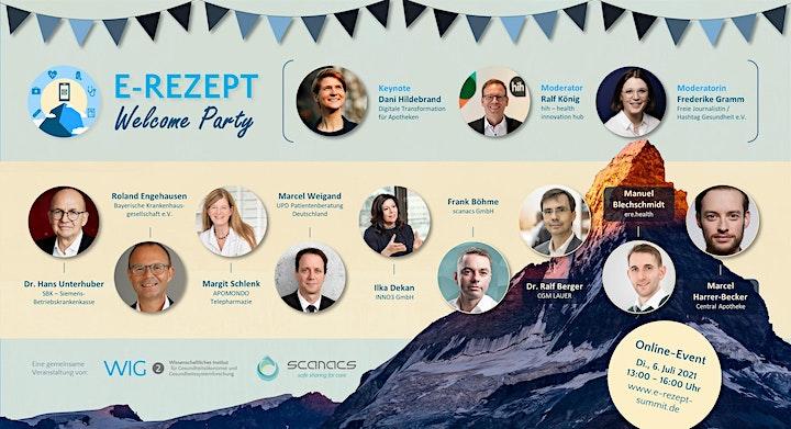 E-Rezept Welcome Party: Bild