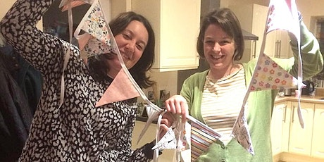 Bunting Workshop, Simple Machine Sewing Lesson tickets
