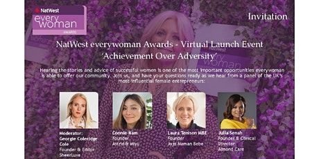 Achievement Over Adversity: NatWest everywoman Awards Launch Event tickets