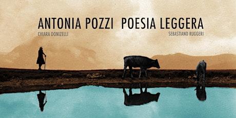 Antonia Pozzi poesia leggera biglietti