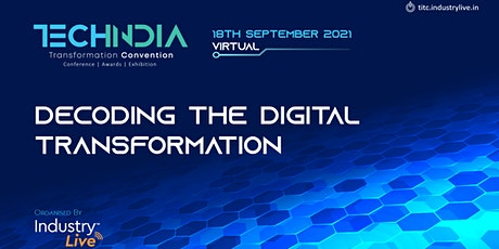 Tech India Transformation Convention tickets