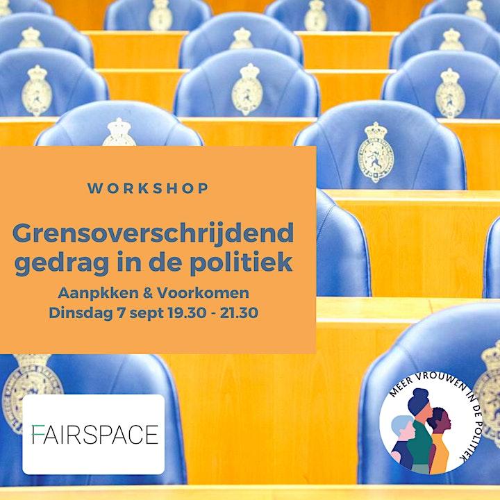 Afbeelding van Workshop Grensoverschrijdend gedrag in de Politiek
