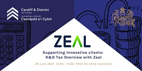 Supporting Innovative clients: R&D Tax Overview with Zeal tickets