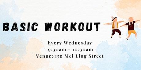 Basic Workout tickets
