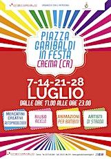 PIAZZA GARIBALDI IN FESTA - CREMA (CR) biglietti
