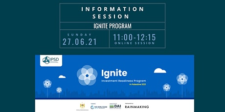 IGNITE Information Session tickets