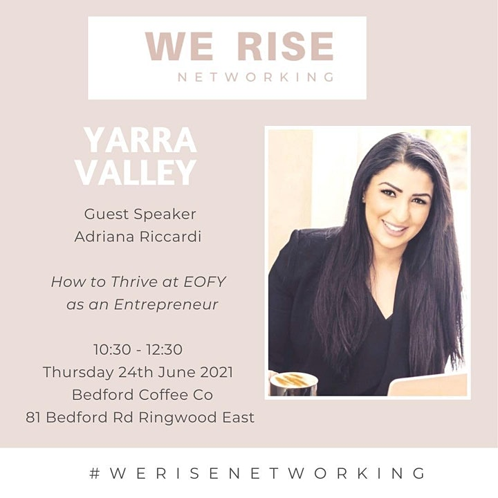 Women in Business 'Connection Event Yarra valley June image