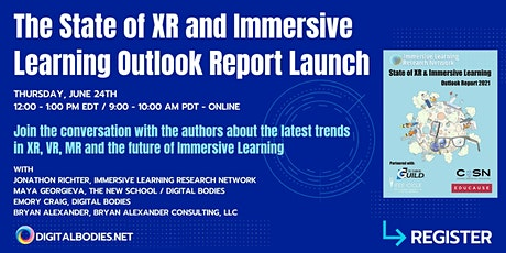 The State of XR and Immersive Learning Outlook Report - Conversations with biglietti