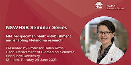 NSWHSB Seminar Series - Professor Helen Rizos tickets