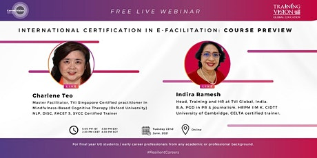 International Certification in e-Facilitation: Course Preview tickets