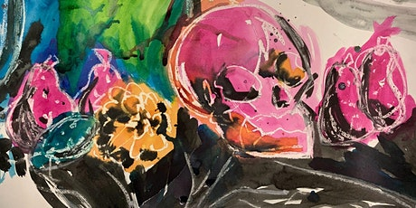 Introduction to drawing - Inks and oil pastels tickets