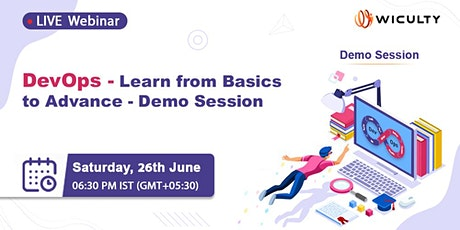 DevOps - Learn from Basics to Advance - Demo Session | Live Webinar tickets