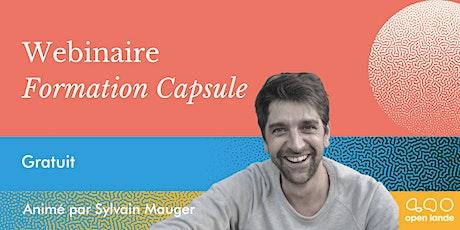 WEBINAIRE FORMATION #CAPSULE [EN LIGNE, GRATUIT] billets