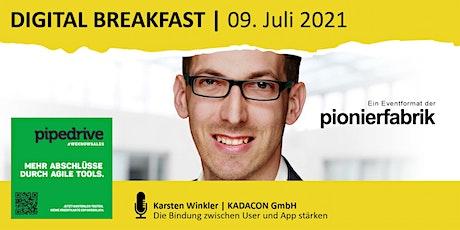 """""""Die Bindung zwischen User und App stärken"""" mit Karsten Winkler Tickets"""