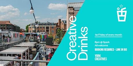 Creative Drinks: July 2021 tickets