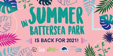 Free Zumba Classes in Battersea Park with Enable Leisure tickets