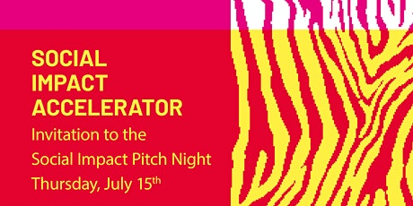 Social Impact Accelerator - Pitch Night Tickets