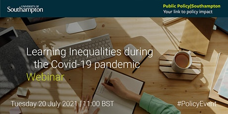 Learning inequalities during the Covid-19 pandemic tickets
