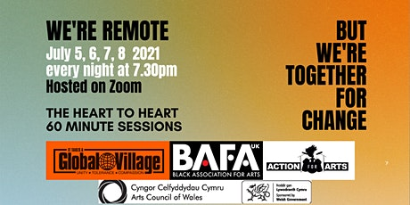 Heart to Heart. 60 Minute Sessions. Together For Change. Race Equality. tickets