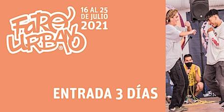 Festival Faro Urbano - Full Pass (entrada de 3 días) entradas