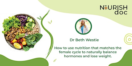 Nutrition for female cycle to naturally balance hormones & lose weight. tickets