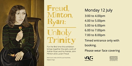 Freud, Minton, Ryan: unholy trinity and John Eaves: 50 Years Private View tickets